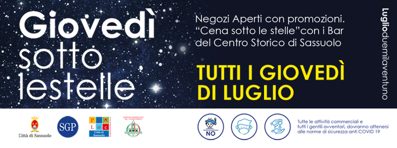 Giovedì sotto le stelle 2021