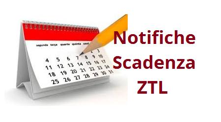 Notifiche scadenza ZTL
