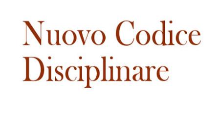 Nuovo codice disciplinare dei dipendenti pubblici